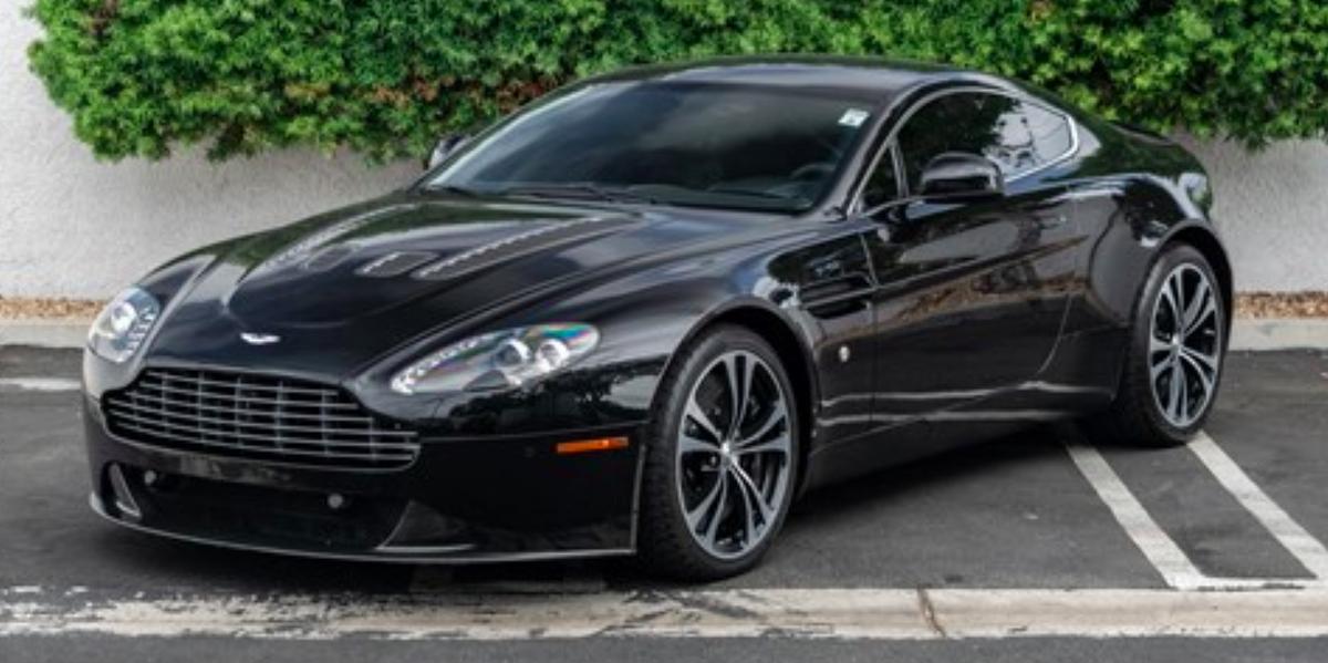 2011    V12       Vantage    for Sale  Aston    Martin    Manual    V12    Investment Car