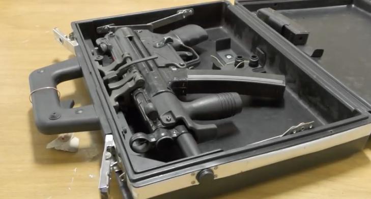 The Submachine Gun That Was Built Into a Briefcase