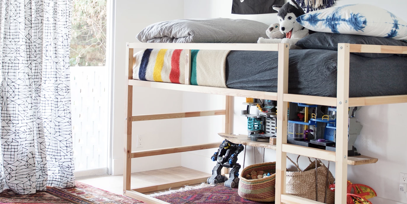 30 Genius Storage Ideas To Keep Your Kid's Room Clutter-Free