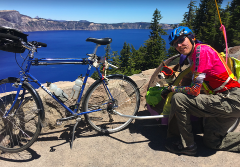 A Man and His Dog Spent 4 Months Riding 5,000 Miles Across the Country Together