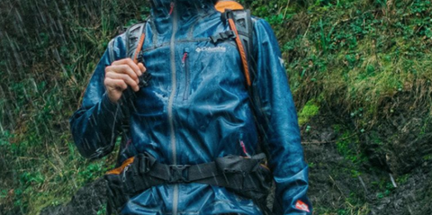 Jacket, Clothing, Outerwear, Raincoat, Top, Jungle,