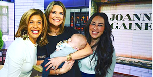 Savannah Guthrie, Hoda Kotb and Joanna Gaines on Today