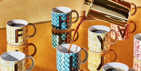 Coffee cup, Cup, Mug, Cup, Drinkware, Tableware, Porcelain, Ceramic, Tea set, Shelf,