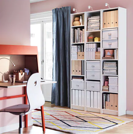Furniture, Shelf, Room, Interior design, Shelving, Bookcase, Desk, Table, Building, Floor,