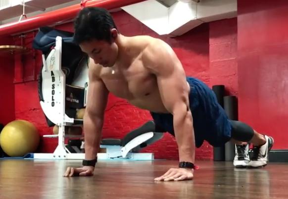 Este reto de flexiones tonificará tu pectoral y brazos