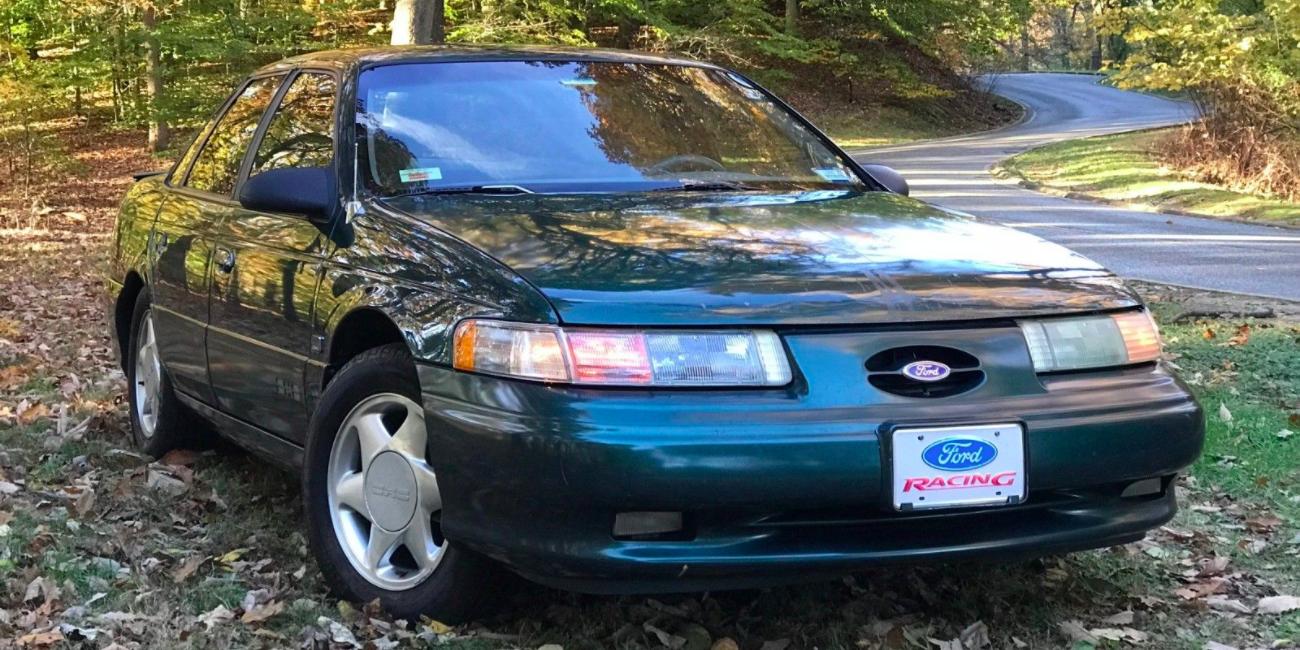 1995 Ford Taurus Sho For Sale Budget Sleeper Sedan On Ebay Motors