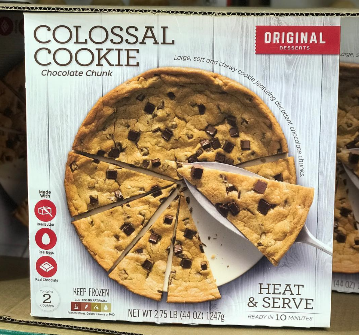 Costco Has A 3 Pound Colossal Cookie Giant Food From Costco