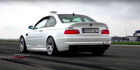 The BMW M3 Sounds Wonderful With a Supercharger