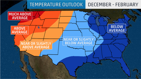 The Weather Channel Predicts a Brutal Winter for Most of the Country