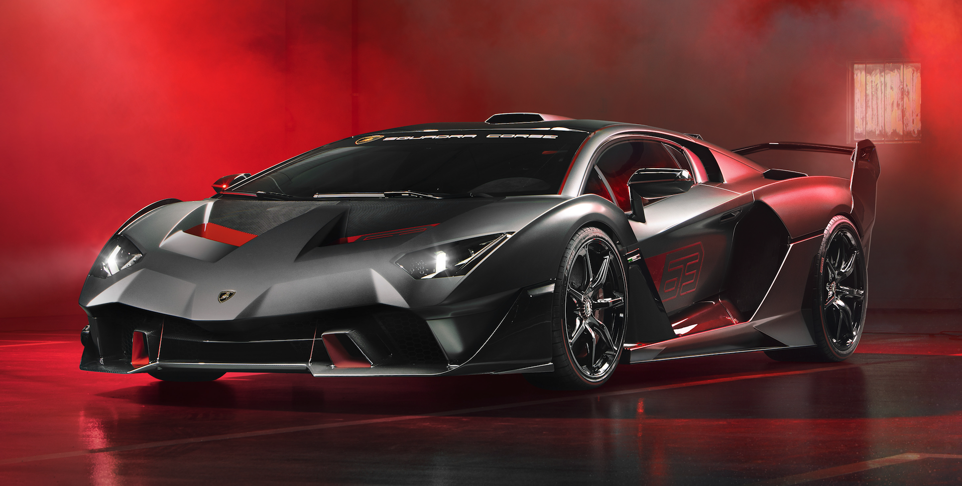 Lamborghini Built This V12, Carbon-Fiber Trackday Beast For One Very Important Customer