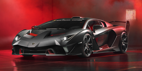 One Off Lamborghini Sc18 Track Special Revealed New 2019