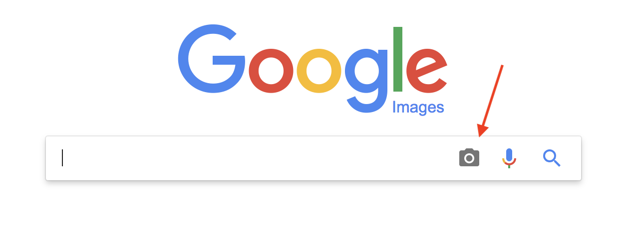 How to put photo in google search bar