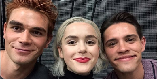 Image result for riverdale and chilling adventures of sabrina crossover