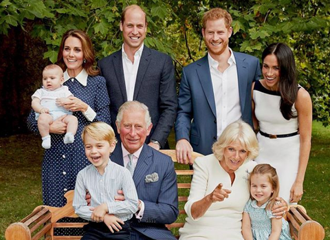 why royals are laughing in family photo reason royal family