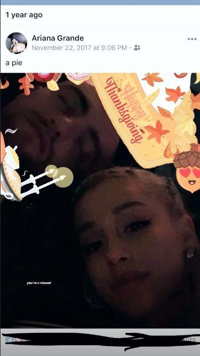 Ariana Grande Thanksgiving
