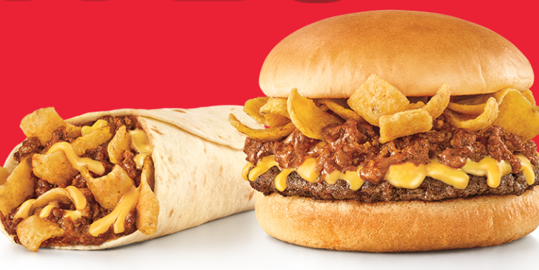 Sonic S New Fritos Chili Cheese Items Limited Time Sonic