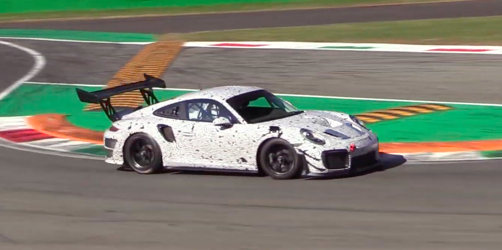 New Porsche 911 GT2 RS Clubsport Tested on Track , Track