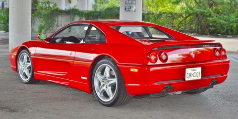 Land vehicle, Vehicle, Car, Ferrari f355, Alloy wheel, Sports car, Coupé, Automotive wheel system, Ferrari 348, Wheel,