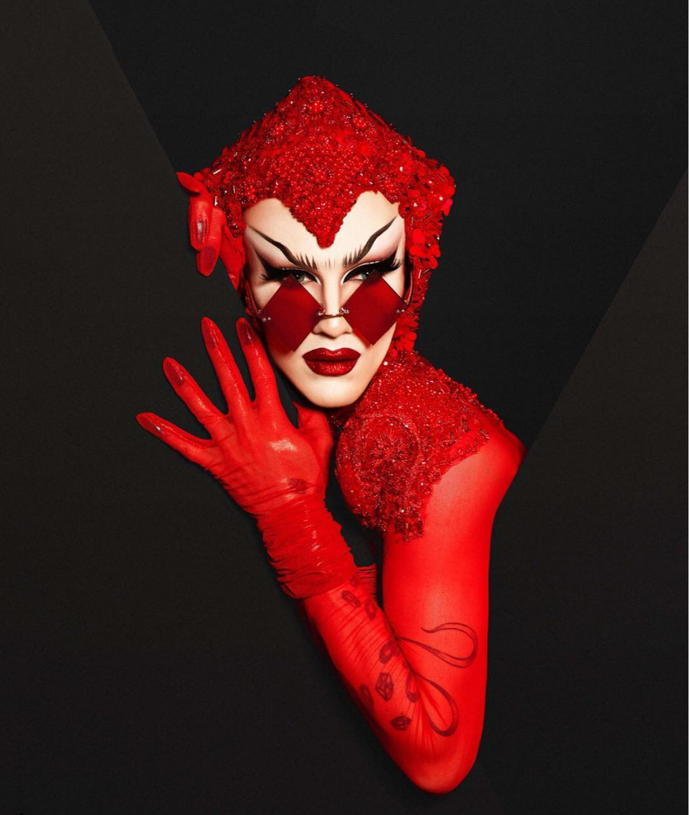 How Lipstick Became a Powerful Tool of Self Discovery for Sasha Velour