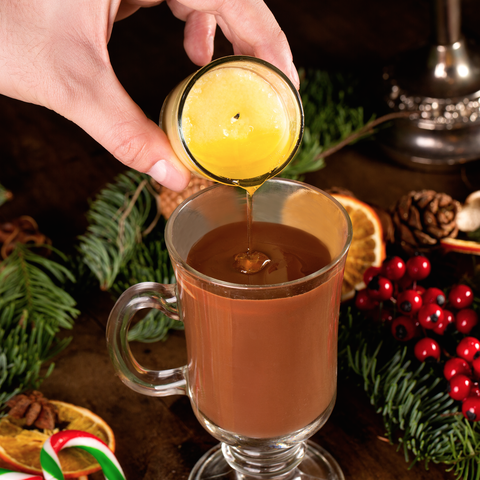 Drink, Alcoholic beverage, Food, Non-alcoholic beverage, Cocktail garnish, Cocktail, Christmas, Distilled beverage, Punch, Moscow mule,