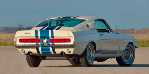 Mecum. Shelby collectors: Brace yourself for this one. The only 1967 Shelby Mustang ...