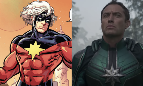 The Cast Of Captain Marvel Vs Their Comic Counterparts