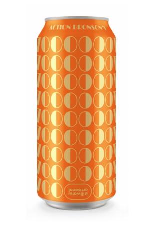 Beverage can, Orange, Cylinder,
