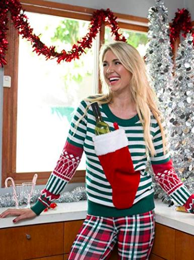 Clothing, Plaid, Christmas stocking, Christmas eve, Christmas decoration, Pattern, Sweater, Tartan, Design, Christmas,