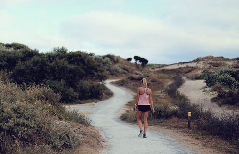 Sky, Trail, Wilderness, Cloud, Recreation, Tree, Jogging, Running, Mountain, Landscape,