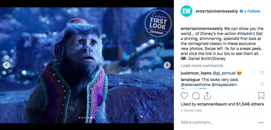 Disney Releases New Aladdin Photos Featuring Hot Jafar Marwan