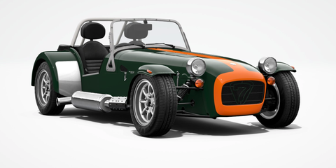 Land vehicle, Vehicle, Car, Caterham 7, Caterham 7 csr, Lotus seven, Sports car, Classic car, Automotive design, Mk indy,