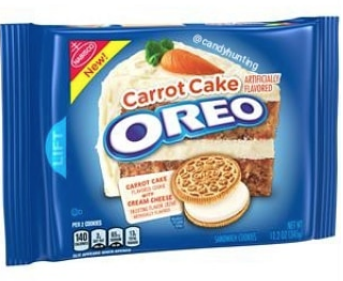Carrot Cake Oreos Are Here So Much Earlier Than We Thought They D Be