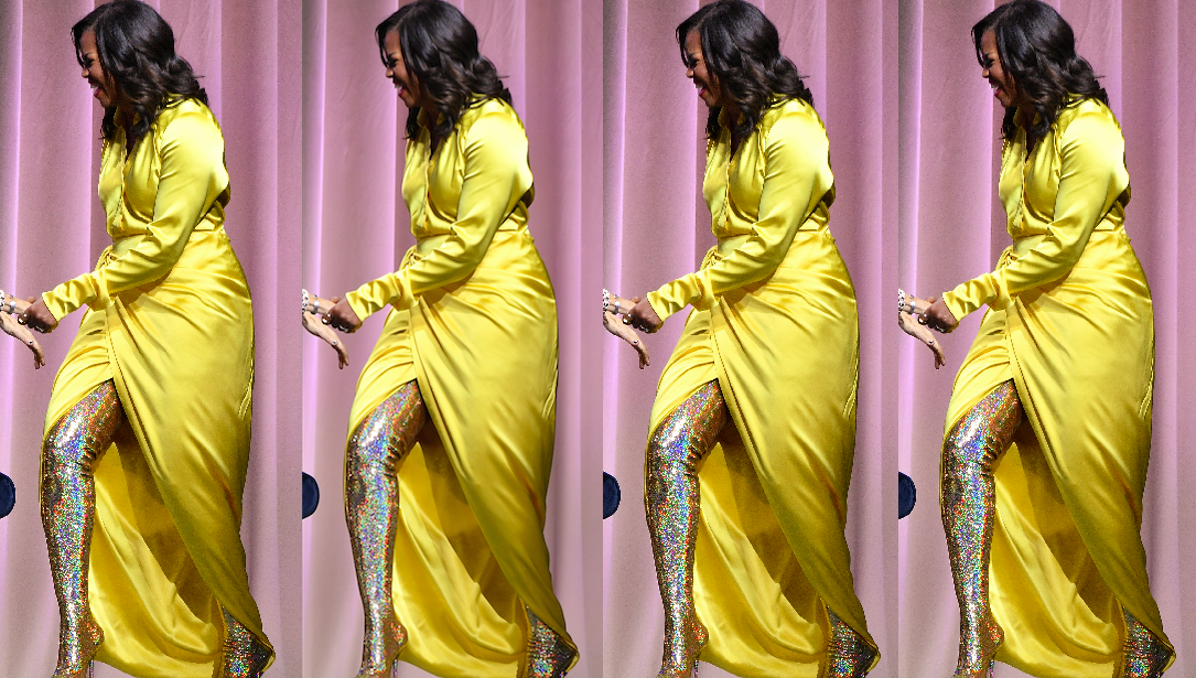 """Résultat de recherche d'images pour """"michelle obama shiny boots"""""""