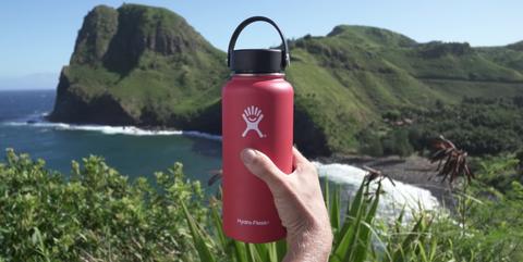 Fluid, Liquid, Coastal and oceanic landforms, Drinkware, Water bottle, Bottle, Plastic bottle, Landscape, Natural landscape, Hill,