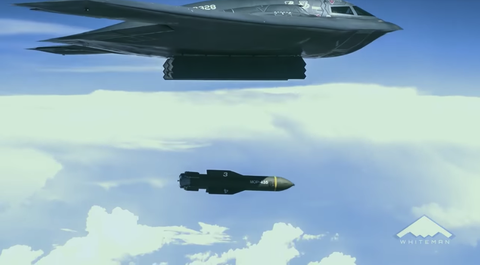 Airplane, Vehicle, Aircraft, Air force, Northrop grumman b-2 spirit, Military aircraft, Stealth aircraft, Fighter aircraft, Flight, Lockheed martin f-22 raptor,