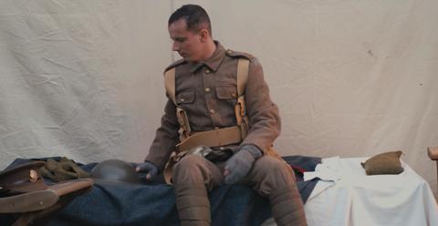 Sitting, Soldier, Uniform, Military, Military uniform,