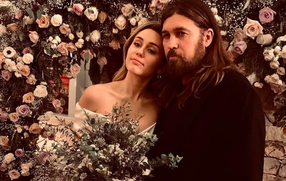 Miley Cyrus Shares More Unseen Wedding Photos With Liam Hemsworth