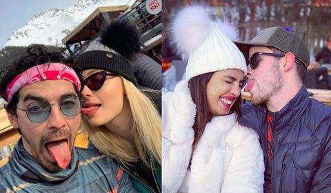 People, Knit cap, Beanie, Fun, Selfie, Eyewear, Photography, Winter, Headgear, Snow,