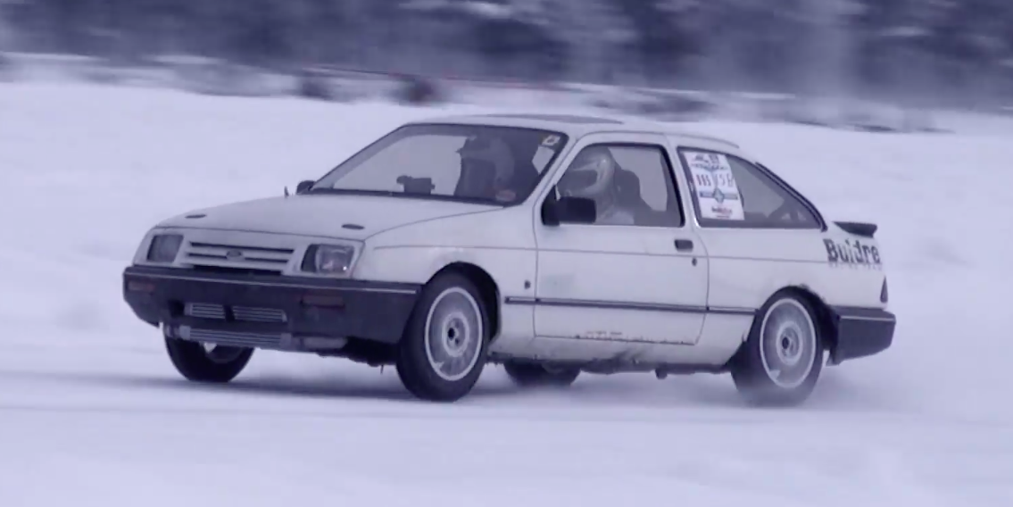 2JZ-Powered Ford Sierra Hits 175 MPH on Ice - Engine-Swapped '80s Ford  Economy Car