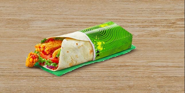 McDonald's have added a spicy veggie wrap to their menu