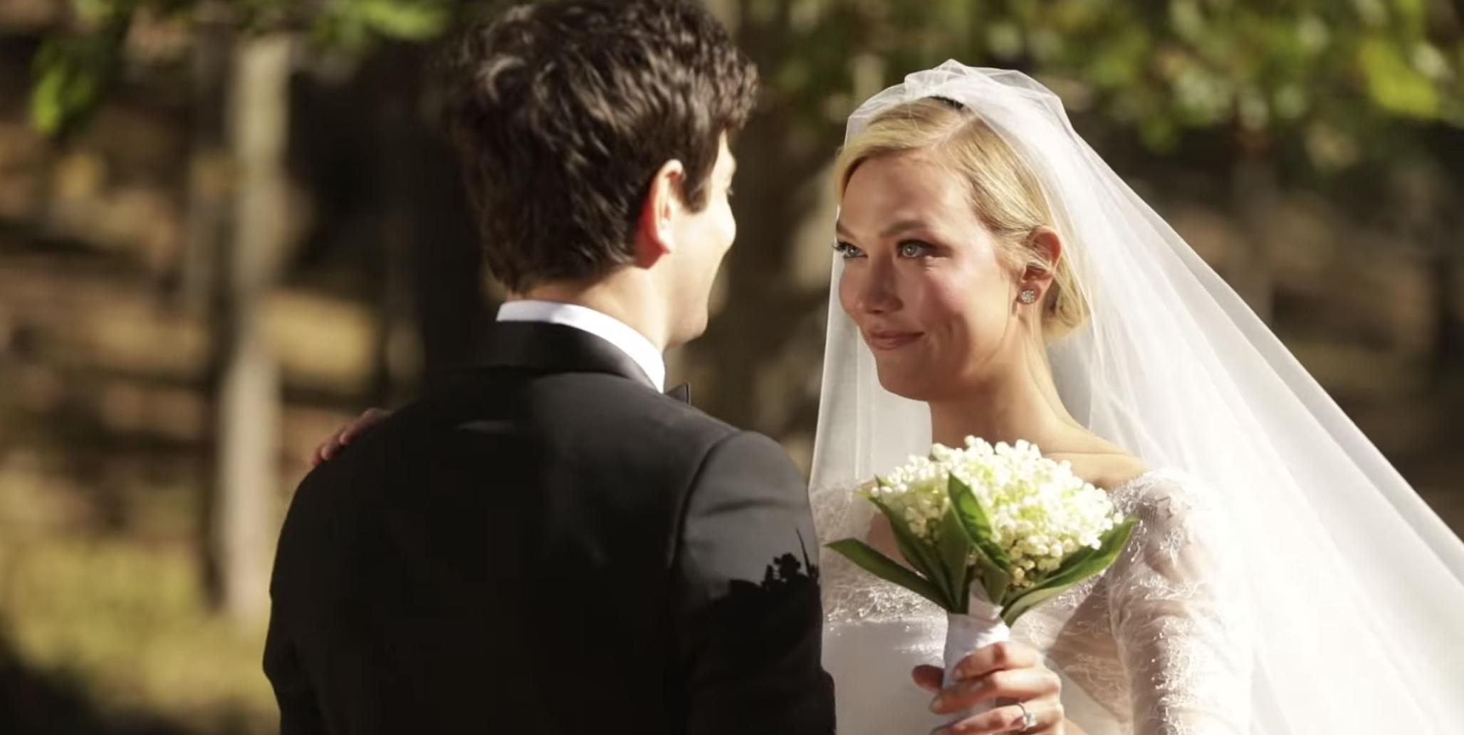 14c9d242a1036fa Karlie Kloss Shares Emotional New Wedding Footage with Joshua Kushner