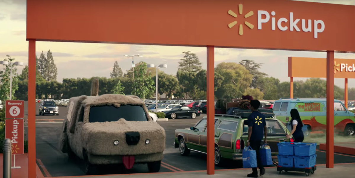 The 12 Iconic Movie Cars You Missed in Walmart's Super Bowl Commercial