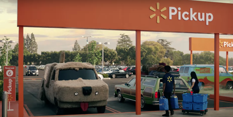 eeddc93fd7 The 12 Iconic Movie Cars You Missed in Walmart's Super Bowl Commercial