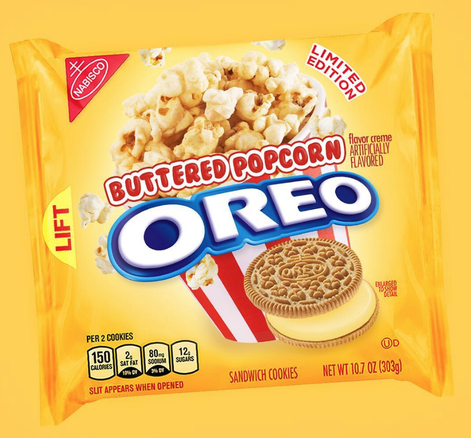 Buttered Popcorn Oreos Are Reportedly In The Works And Theyll Change Movie Nights Forever