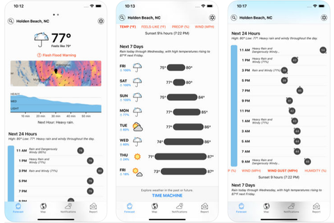 best weather apps   dark sky