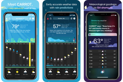 best weather apps   carrot weather