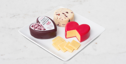 Aldi Is Selling Heart Shaped Cheese For Valentine S Day Seasonal