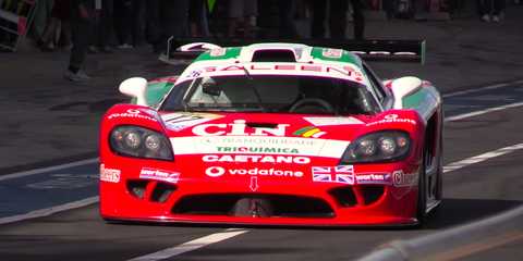 Nothing Can Top the Thunderous Roar of This Saleen S7 Race Car