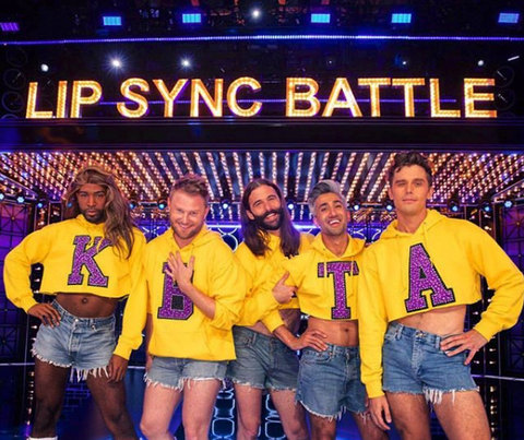 Queer Eye's Fab Five Perform on Lip Sync Battle