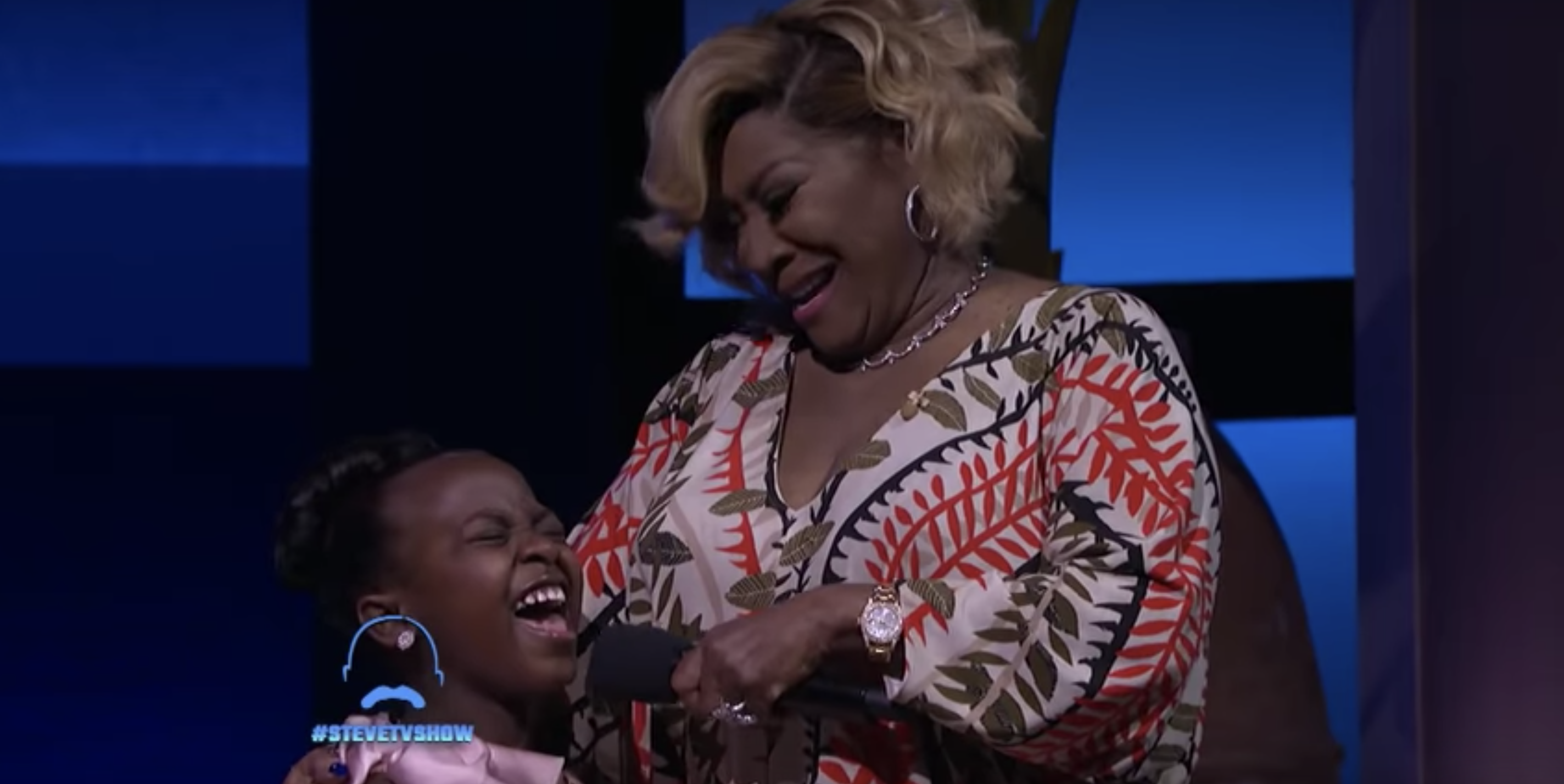 Patti Labelle Surprising a Young Fan on the Steve Harvey Show Will Make Your Day